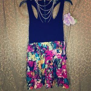 🎨 Ruffle Bottom Dress 🤹🏻♀️